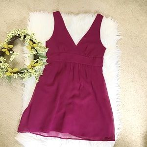 No Brand- simple Pink short dress